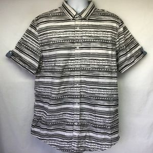 American Rag Men's Striped Boho Shirt XXL